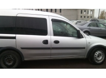 Дефлекторы окон Opel Combo C /2001-2011/. Ветровики Опель Комбо [Cobra]