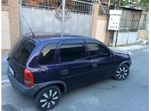 Дефлекторы окон Opel Corsa B /1993-2000/. Ветровики Опель Корса [Cobra]