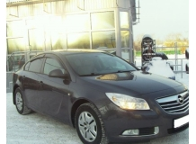 Дефлекторы окон Opel Insignia A /2008-2017, Седан/. Ветровики Опель Инсигния [Cobra]