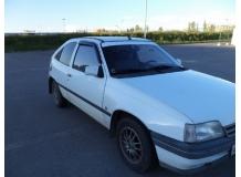 Дефлекторы окон Opel Kadett E /3D, 1984-1991/. Ветровики Опель Кадет [Cobra]