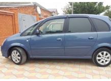 Дефлекторы окон Opel Meriva A /2002-2001/. Ветровики Опель Мерива [Cobra]