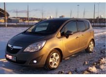 Дефлекторы окон Opel Meriva B /2010+/. Ветровики Опель Мерива [Cobra]