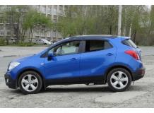 Дефлекторы окон Opel Mokka /2012+/. Ветровики Опель Мокка [Cobra]