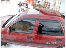 Дефлекторы окон Opel Vectra A /1988-1995/. Ветровики Опель Вектра [Cobra]