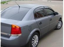 Дефлекторы окон Opel Vectra C /Седан, 2002-2008/. Ветровики Опель Вектра [Cobra]