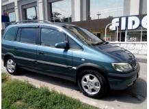 Дефлекторы окон Opel Zafira A /1999-2005/. Ветровики Опель Зафира [Cobra]