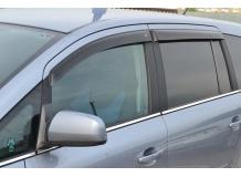 Дефлекторы окон Opel Zafira B /2005-2011/. Ветровики Опель Зафира [Cobra]