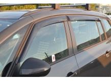 Дефлекторы окон Opel Zafira C Tourer /2012+/. Ветровики Опель Зафира Турер [Cobra]
