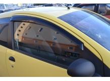 Дефлекторы окон Peugeot 107 /3D, 2005+/. Ветровики Пежо 107 [Cobra]