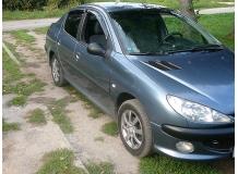 Дефлекторы окон Peugeot 206 /Седан, Хэтчбек, 1998-2012/. Ветровики Пежо 206 [Cobra]