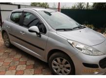 Дефлекторы окон Peugeot 207 /Хэтчбек, 2006-2012/. Ветровики Пежо 207 [Cobra]