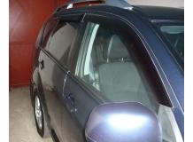 Дефлекторы окон Peugeot 4007 /2007-2013/. Ветровики Пежо 4007 [Cobra]