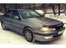 Дефлекторы окон Peugeot 406 /Седан, 1995-2000/. Ветровики Пежо 406 [Cobra]