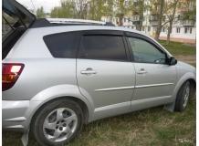 Дефлекторы окон Pontiac Vibe I /2001-2008/. Ветровики Понтиак Вайб [Cobra]