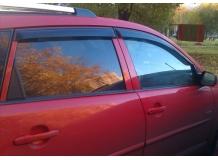 Дефлекторы окон Pontiac Vibe II /2008-2010/. Ветровики Понтиак Вайб [Cobra]