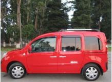 Дефлекторы окон Renault Kangoo II /2007+, 5D/. Ветровики Рено Кенго [Cobra]