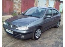 Дефлекторы окон Renault Megane I /Хэтчбек, 1995-2002/. Ветровики Рено Меган [Cobra]