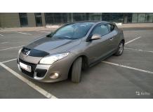 Дефлекторы окон Renault Megane III /3D, 2008-2015/. Ветровики Рено Меган [Cobra]