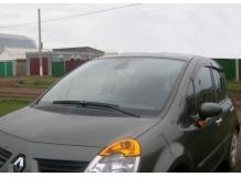 Дефлекторы окон Renault Modus /2004-2012/. Ветровики Рено Модус [Cobra]
