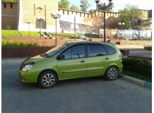 Дефлекторы окон Renault Scenic I /1996-2003/. Ветровики Рено Сценик [Cobra]