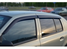 Дефлекторы окон Renault Symbol I /2001-2008/. Ветровики Рено Симбол [Cobra]