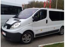 Дефлекторы окон Renault Trafic II /2001-2014/. Ветровики Рено Трафик [Cobra]
