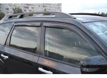 Дефлекторы окон Subaru Forester III (SH) /2008-2013/. Ветровики Субару Форестер [Cobra]