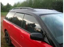 Дефлекторы окон Subaru Legacy III /Универсал, 1998-2003/. Ветровики Субару Легаси [Cobra]