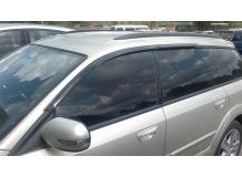 Дефлекторы окон Subaru Legacy IV /Универсал, 2003-2009/. Ветровики Субару Легаси [Cobra]