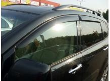 Дефлекторы окон Subaru Tribeca /2005-2014/. Ветровики Субару Трибэка [Cobra]