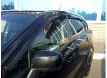 Дефлекторы окон Subaru XV /2011+/. Ветровики Субару XV [Cobra]