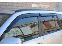 Дефлекторы окон Suzuki Grand Vitara II /5D, 2005-2015/. Ветровики Сузуки Гранд Витара [Cobra]