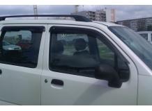 Дефлекторы окон Suzuki Wagon R+ I /1997-2000/. Ветровики Сузуки Вагон Р+ [Cobra]