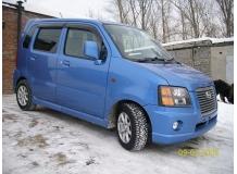Дефлекторы окон Suzuki Wagon R+ II /2000-2008/. Ветровики Сузуки Вагон Р+ [Cobra]