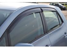 Дефлекторы окон Toyota Auris I (E15) /Хэтчбек, 2007-2012/. Ветровики Тойота Аурис [Cobra]