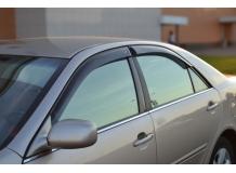 Дефлекторы окон Toyota Camry V30 /2001-2006/. Ветровики Тойота Камри [Cobra]