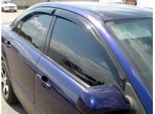 Дефлекторы окон Toyota Carina E (T190) /Седан, 1992-1996/. Ветровики Тойота Карина [Cobra]