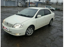 Дефлекторы окон Toyota Corolla IX (E120) /Седан, 2000-2007/. Ветровики Тойота Королла [Cobra]