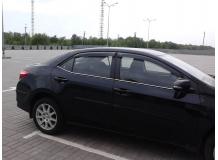 Дефлекторы окон Toyota Corolla XI (E160) /Седан, 2013+/. Ветровики Тойота Королла [Cobra]