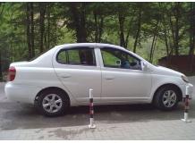 Дефлекторы окон Toyota Echo /1999-2005/. Ветровики Тойота Эхо [Cobra]