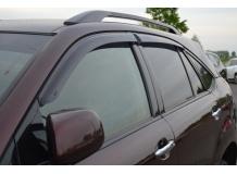 Дефлекторы окон Toyota Harier (XU30) /2003-2013/. Ветровики Тойота Харриер [Cobra]
