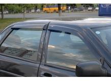 Дефлекторы окон Lada Priora (2170) /Седан, 2007-2011/. Ветровики Лада Приора [Cobra]