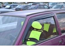 Дефлекторы окон VAZ 1111 Oka /1987-2008/. Ветровики ВАЗ 1111 Ока [Cobra]