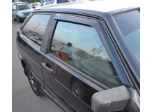 Дефлекторы окон VAZ 2108 Lada /1984-2014/. Ветровики ВАЗ 2108 Лада [Cobra]