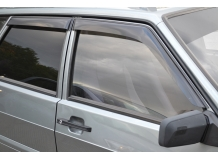 Дефлекторы окон VAZ 21099 Lada /1990-2011/. Ветровики ВАЗ 21099 Лада [Cobra]