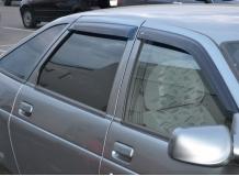 Дефлекторы окон VAZ 2112 Lada /2000-2013/. Ветровики ВАЗ 2112 Лада [Cobra]