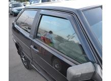 Дефлекторы окон VAZ 2113 Lada /2004-2013/. Ветровики ВАЗ 2113 Лада [Cobra]