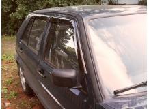 Дефлекторы окон Volkswagen Golf II /Хэтчбек, 1983-1992/. Ветровики Фольксваген Гольф 2 [Cobra]