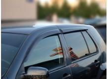 Дефлекторы окон Volkswagen Golf IV /Хэтчбек, 1997-2005/. Ветровики Фольксваген Гольф 4 [Cobra]
