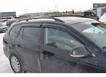 Дефлекторы окон Volkswagen Golf VI /Универсал, 2008-2013/. Ветровики Фольксваген Гольф 5 [Cobra]